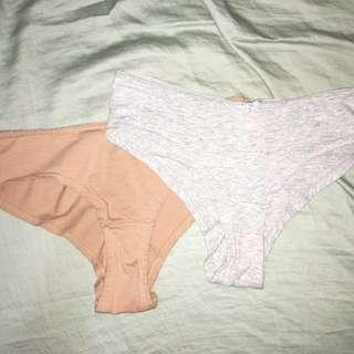 H&M 棉質內褲#大掃除五折#新春八折#超取再七折#換季五折