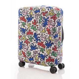 Samsonite x Keith Haring Collection Luggage Cover (S size)