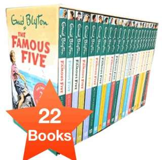 [CHEAPEST] Famous Five Collection (22 book set)