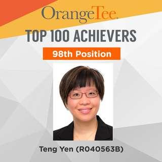 OrangeTee Top Achiever 2017: 98th Position