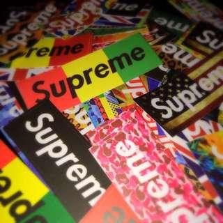 Sticker WaterProof High Quality - Supreme Streetwear Stickers Decals
