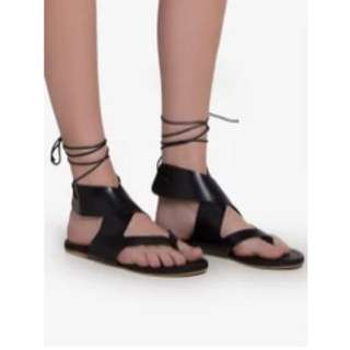 Thong strappy sandals