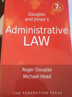 Administrative Law text book