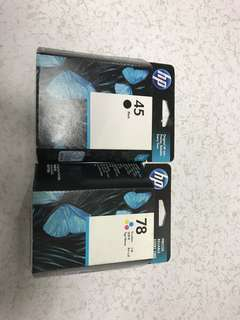 HP Ink Cartridge 45 & 78
