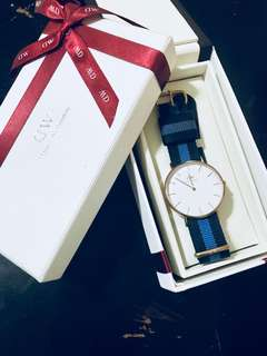 Daniel Wellington 手錶 (保養+盒)