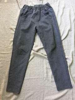 Trouser gray pants.