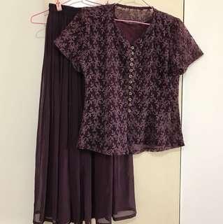 紫色套裝《二手》