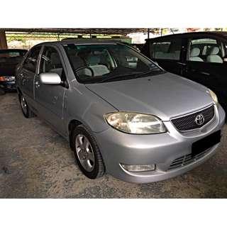 Toyota Vios 1.5E (auto) Tip-top Condition 2004