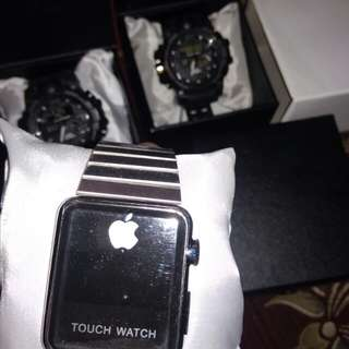 jam tangan G-sock , apple touch watch