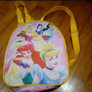 Disney princess haversack bag
