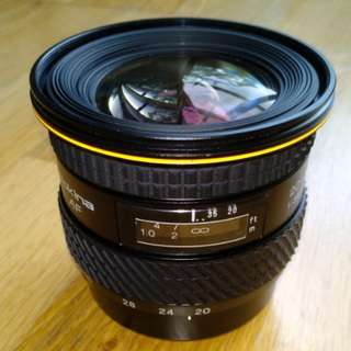 Tokina Wide Angle 20-35mm lens for Sony A-mount