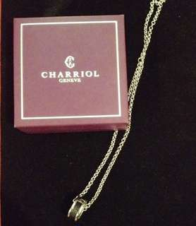 Authentic Philip Charriol Ring and Necklace Set