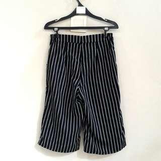B&W Stripes Cullote