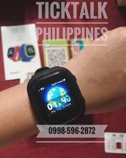 TickTalk Wearable Phone Watch with GPS Locator for Kids 4-12yo