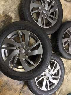 Myvi icon se sport rims