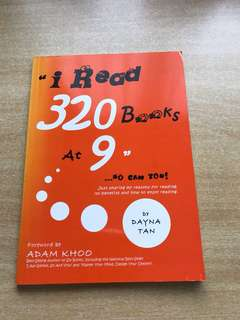 I Read 320 Books at 9 so can you