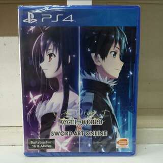 PS4 Accel World Vs Sword Art Online R3 English Version
