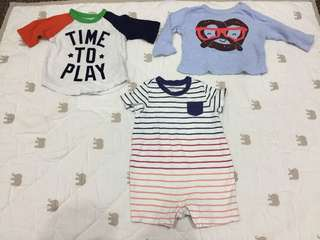 Preloved baby boy apparels