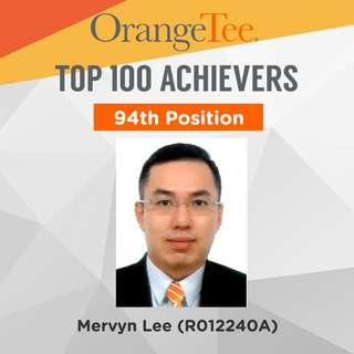 OrangeTee Top Achiever 2017: 94th Position
