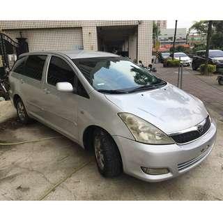 正2005年 Toyota Wish 亮麗銀 省油省稅國民代步車 實車實價只要13.8萬 一手車 非自售