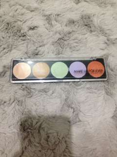 🍃Authentic Make Up Forever Paris 5 Camouflage Cream Palette