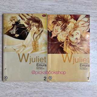 Komik MNC - Dijual Cabutan - W Juliet No 1, 2 - Emura - Kolpri