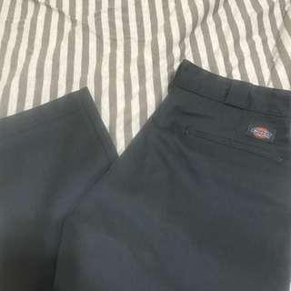 Dickies 874ch 鐵灰 直筒褲 工作褲