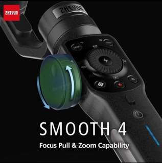 New Zhiyun Smooth 4 Gimbal