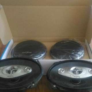Digital Front Speaker America Sound 6.5 Inch 2 Way (New) Rear Panasonic 4 Way Speaker