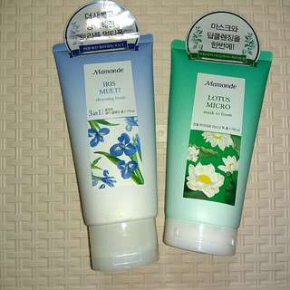 Mamonde Iris Multi and Lotus Micro