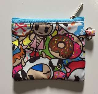 BN Tokipops Customised Pouch with Glitter Vinyl