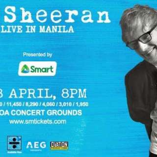ED SHEERAN DIVIDE TOUR MANILA