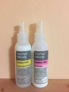 Fuzzyard Coat Mists - $25x2
