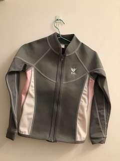 TYR 保暖泳衣(size 110)