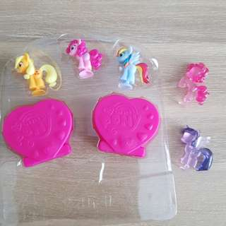 My little pony and empty egg case