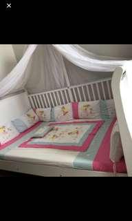 Babybelle crib tipe victoria / baby box / tempat tidur bayi