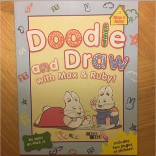 Doodle And Draw With Max & Ruby