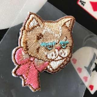 📮包平郵🆕franche lippee embroidery brooch 刺繡胸針