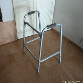 Good condition fixed walking Frame for sales