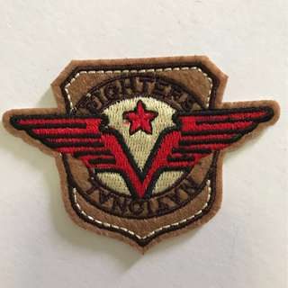 Bn Iron On Patch flighters