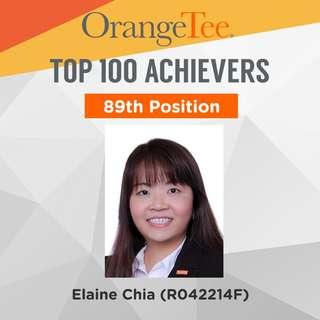 OrangeTee Top Achiever 2017: 89th Position
