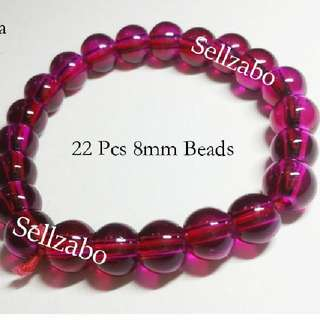 Defective Fragile Cooling Beads Magenta Elastic Bracelets Sellzabo Colour Hands Wrists Accessories Ladies Girls Women Female Lady