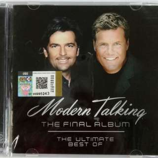 MODERN TALKING The Final Album The Ultimate Best of CD NEW