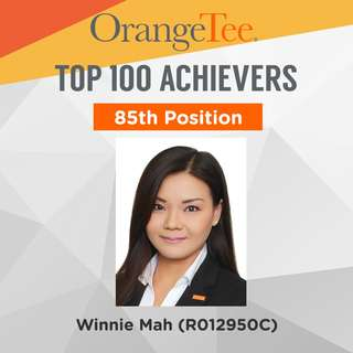 OrangeTee Top Achiever 2017: 85th Position