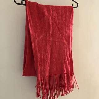 粉桃色圍巾🧣