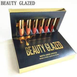 BEAUTY GLAZED - MATTE LIQUID LIPSTICK SET