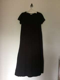 Uniqlo T-Shirt Long Dress