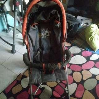 Baby Looney tunes stroller