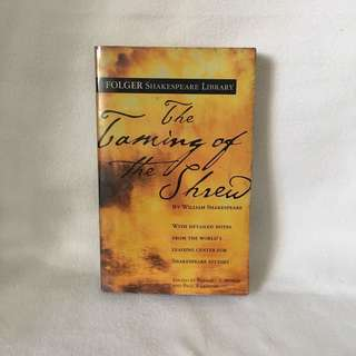 The Taming of the Shrew by William Shakespeare | Folgers Library 📚 | 📖 B39
