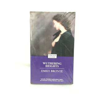Wuthering Heights book by Emily Brontë 📚 | 📖B35